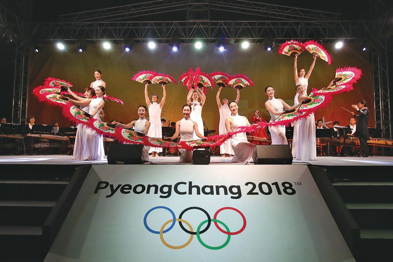 12月5日,國際奧委會宣佈,因2014年索契奧運會興奮劑醜聞,俄羅斯奧委會被禁止參加在南韓平昌舉辦的2018年冬季奧運會。(Getty Images)