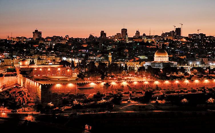 美國總統特朗普打算把美國駐以色列使館遷到耶路撒冷,承認耶路撒冷是以色列首都。圖為耶路撒冷老城。(AFP)