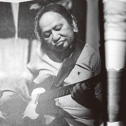菲律賓音樂人、杜麗莎的叔父東尼卡比奧(Tony Carpio),戰前遊走於上海與香港之間,演奏古典及輕音樂的主音結他手、樂隊領班及音樂總監。(翻攝自《香》書)