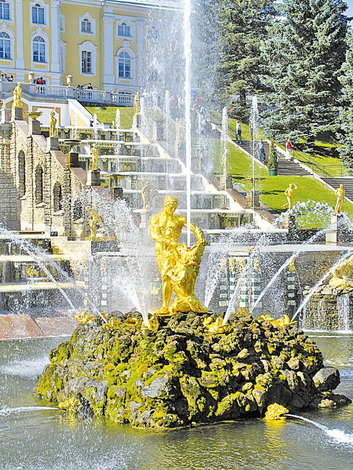 著名的參孫噴泉。