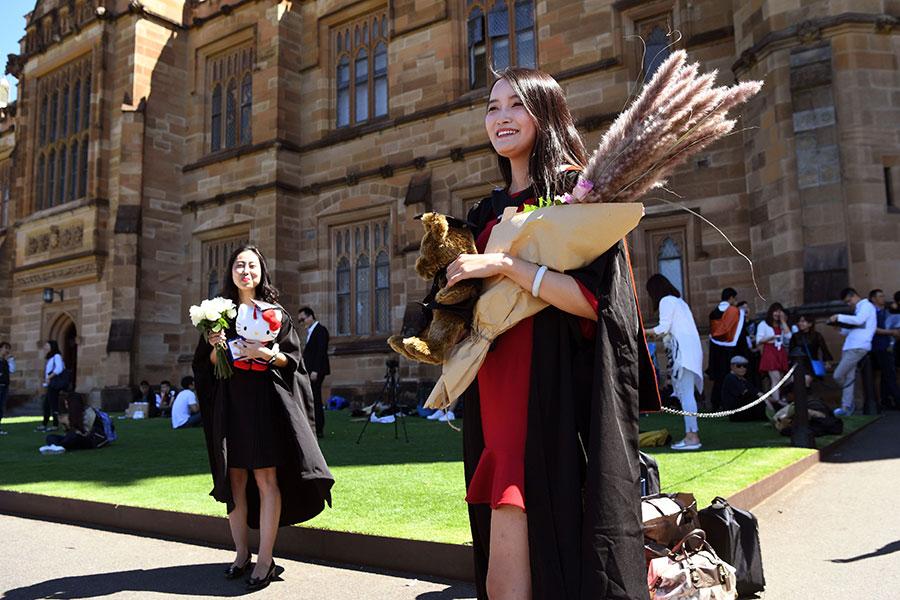 澳洲有一個很大的、多元化的華人社區。澳洲對於所有居住在此的人們而言,都是一個言論自由的避風港。(WILLIAM WEST/AFP/Getty Images)