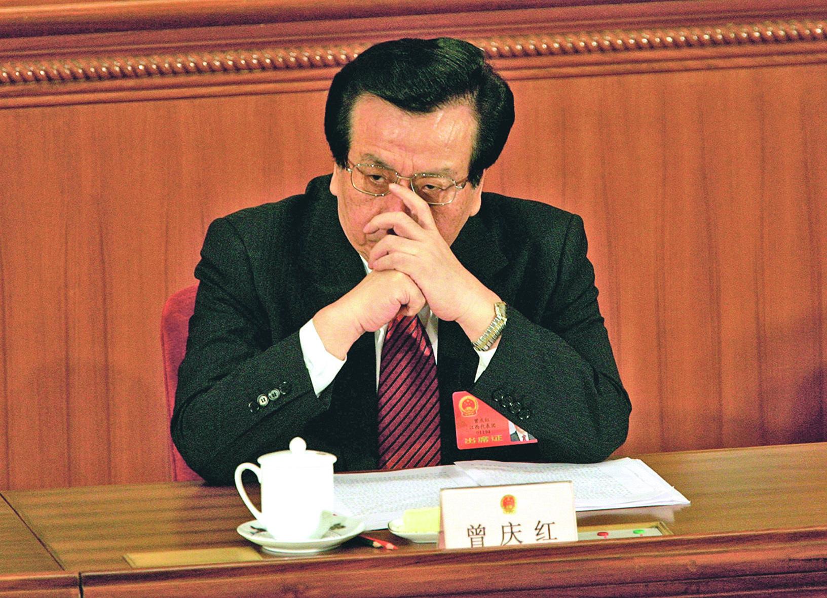 曾慶紅被指是中共黨內最大的野心家。(Getty Images)