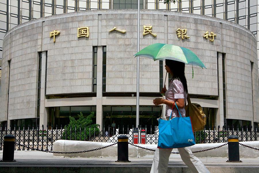 國際結算銀行說,中國是最有可能出現銀行業危機的經濟體之一。該銀行周日(3月11日)發表了季度審查報告。(TEH ENG KOON/AFP/Getty Images)