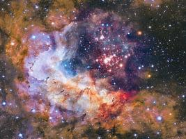 天體巨變 神秘雲帶橫掃銀河系