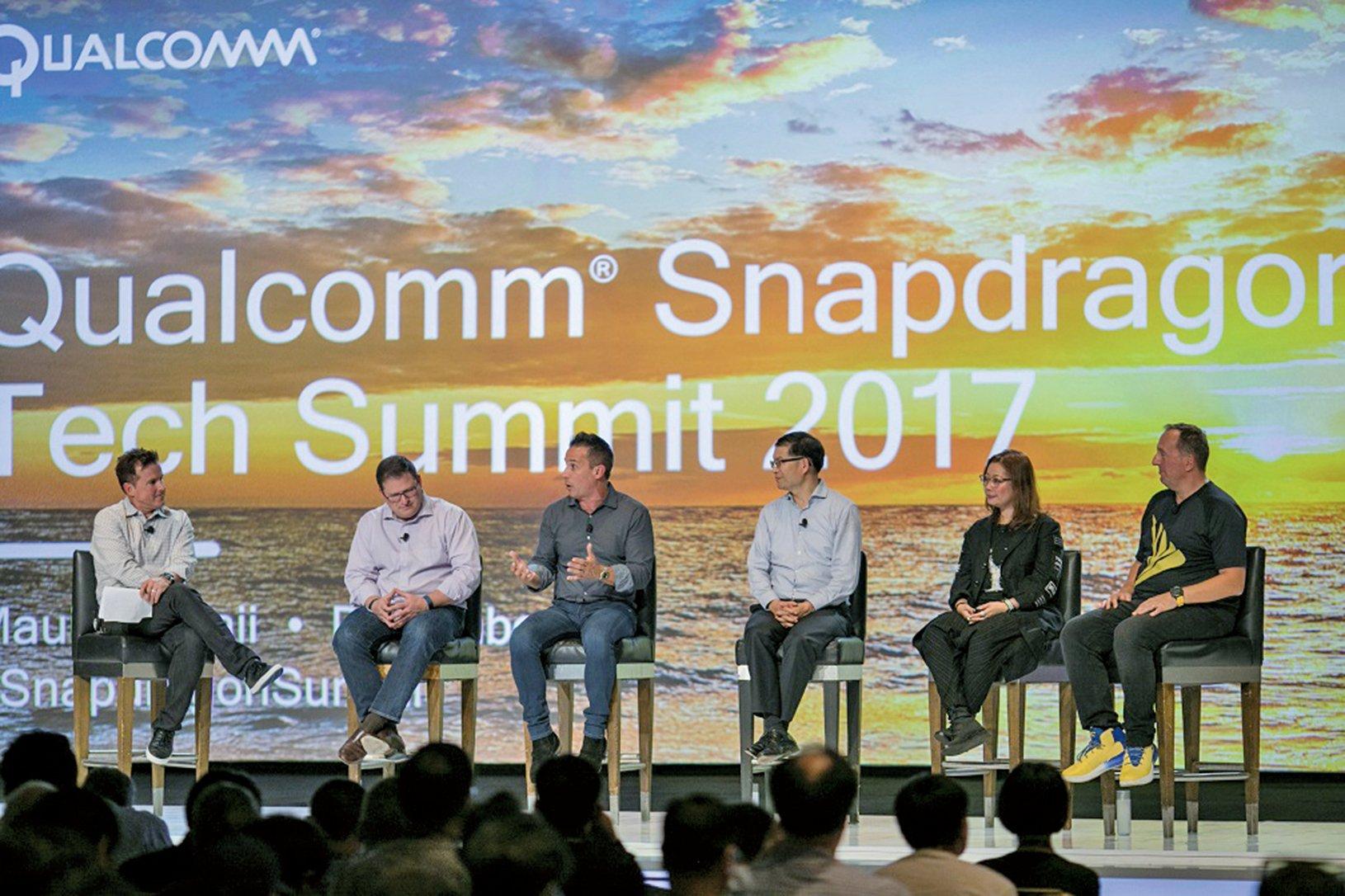 高通的2017年驍龍技術峰會,12月5~7日在夏威夷舉辦。(Qualcomm)