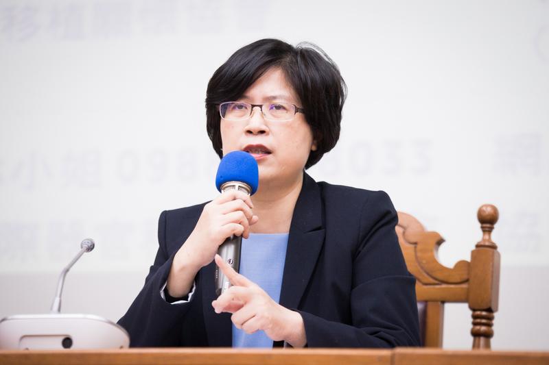台灣法輪功人權律師團發言人朱婉琪。(大紀元資料圖片)