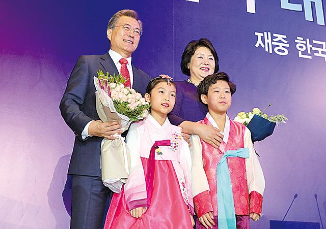 韓國總統文在寅昨抵京 展開對華國事訪問