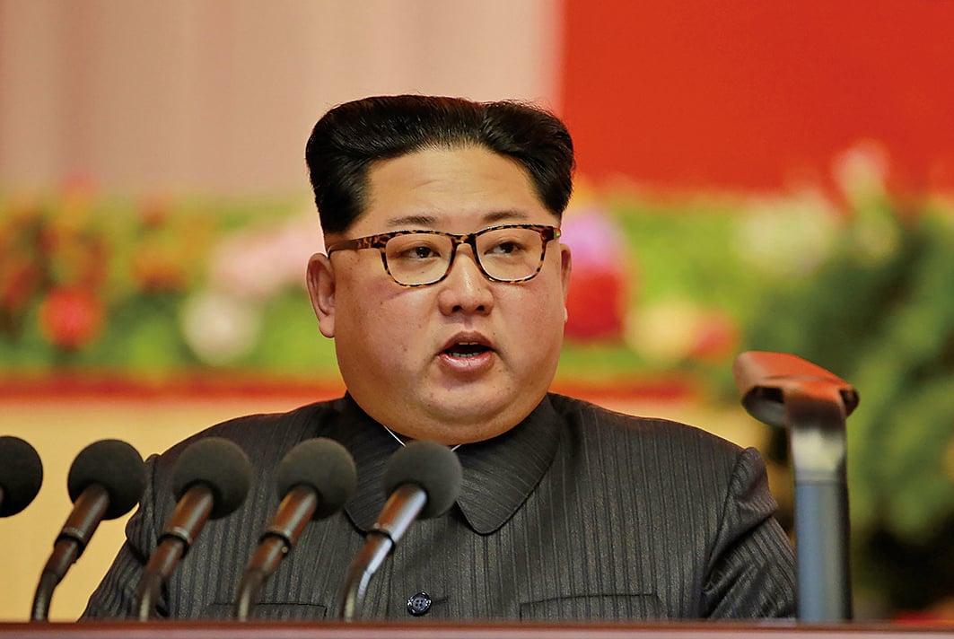 在《國際刑事法庭羅馬規約》列舉的11條反人類罪中,北韓領導人金正恩犯下了10宗罪行,包括謀殺、滅絕、奴役、酷刑和性暴力。(AFP)