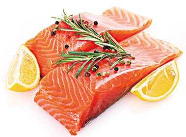 三文魚是很好的蛋白質來源,且其含豐富的omega-3脂肪酸。