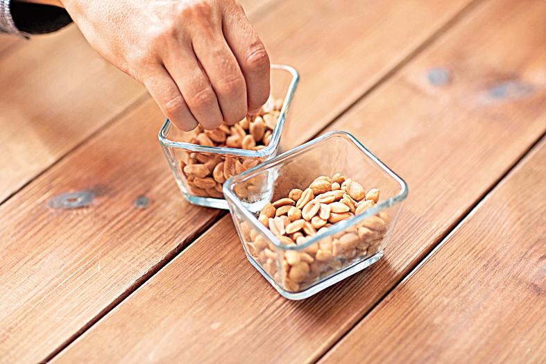 堅果同時富含好油和礦物質,適合在運動後補充營養與能量。