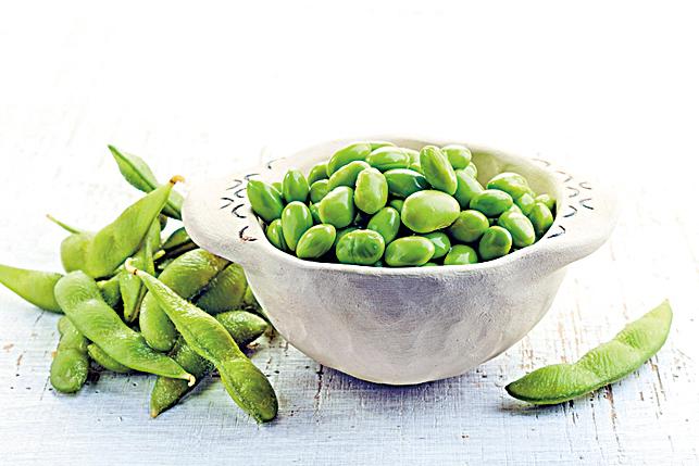 毛豆可以提供優質蛋白質,並增加膳食纖維的份量。