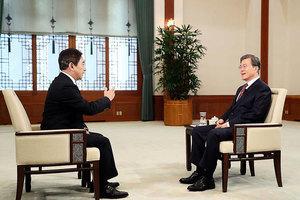 韓媒指責央視對文在寅總統的採訪歪曲編輯