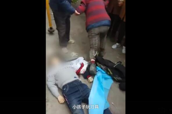 湖南常寧市泉峰中學發生學生在體育課上被同學捅死事件。(網絡圖片)