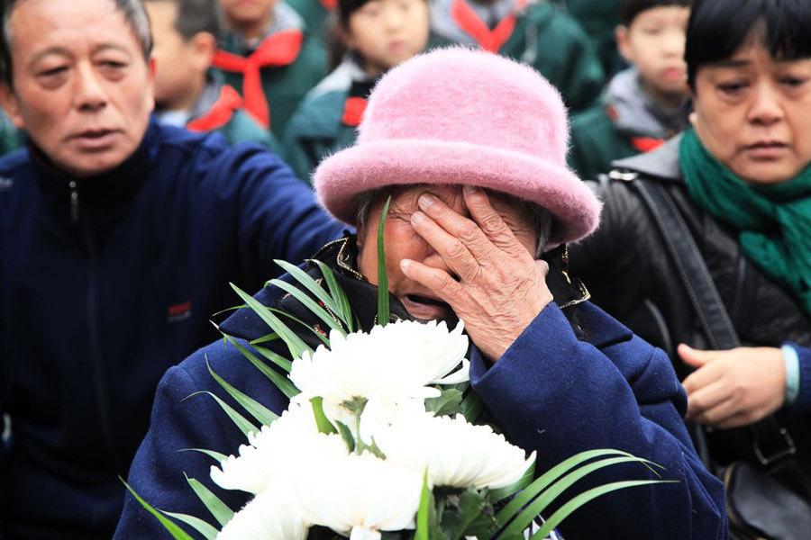 南京大屠殺80周年 中韓元首表態方式各異