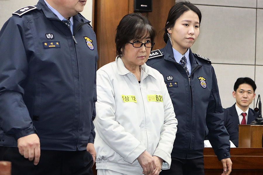 韓親信干政案核心人物崔順實 或面臨25年監禁