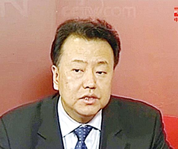 56歲的天津市副市長閻慶民將赴任證監會副主席。(大紀元資料室/影片截圖)
