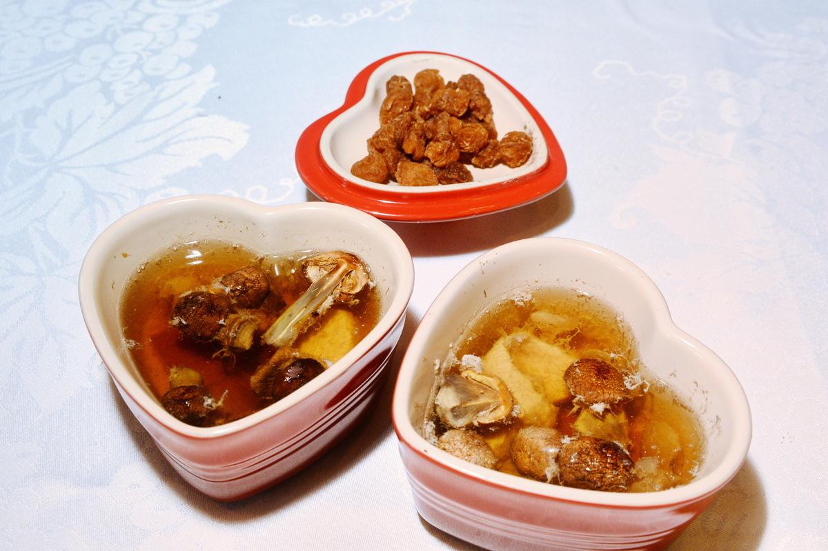 姬松茸燉湯(1人份)