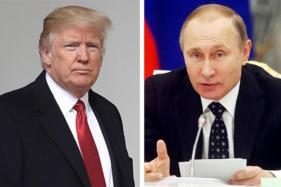 中共插手伊朗,已引起俄羅斯警惕猜忌,普京如同金正恩,想融入歐洲西方,清楚知道能助他們擺脫困局達成心願的關鍵力量,掌握於美國,而不是中共。(Getty Images/大紀元合成圖)