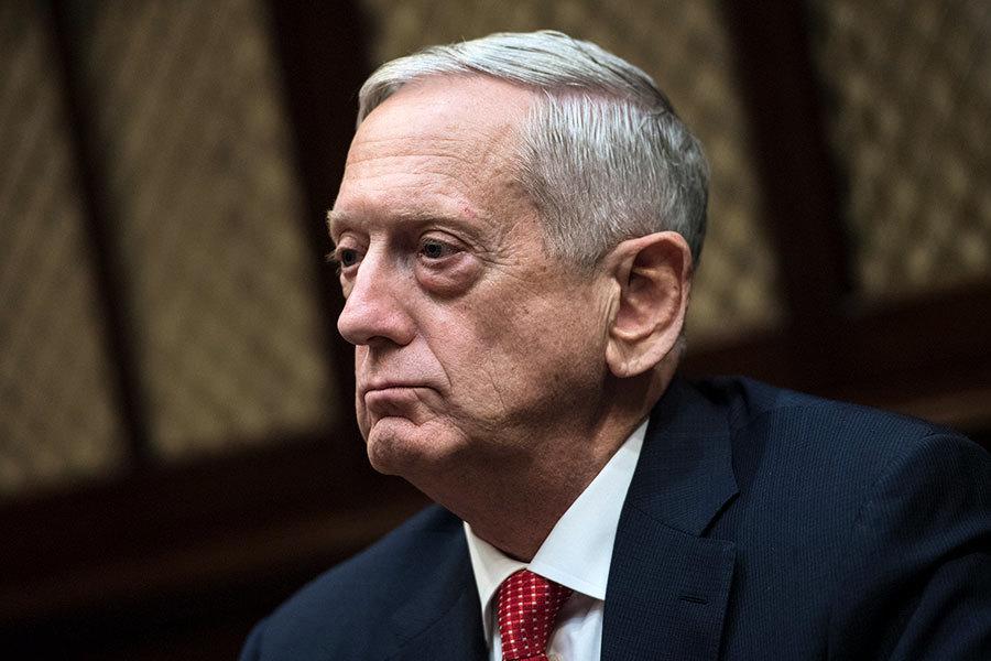 馬蒂斯:北韓洲際導彈未對美構成緊迫威脅