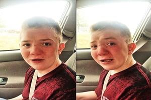 男童泣訴遭霸凌感動告白吸引逾2千萬瀏覽