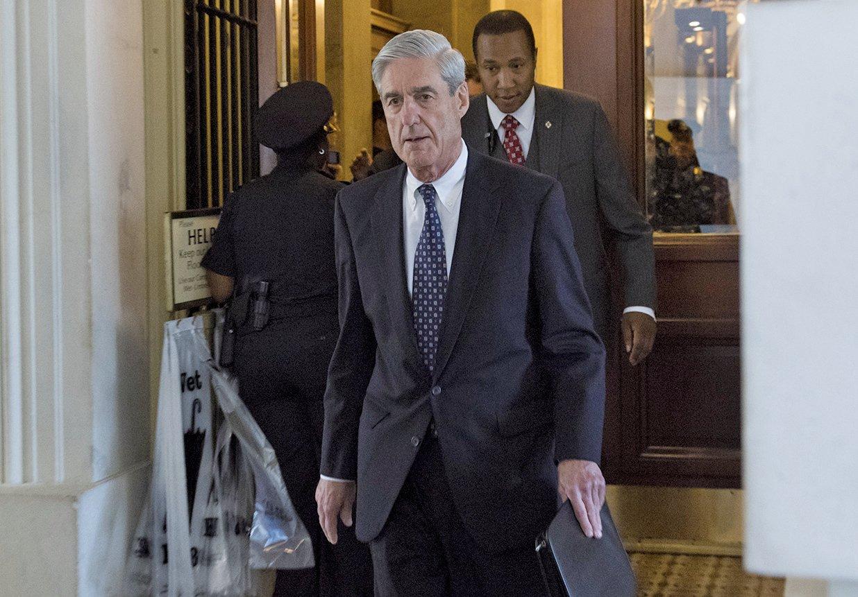 最新民調顯示,特別檢察官穆勒所領導的調查正面臨著一場「公眾信任危機」。 (AFP)