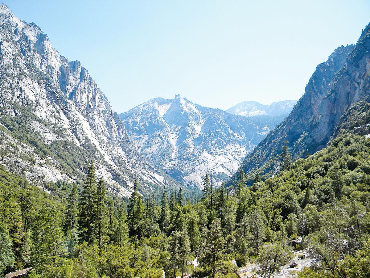 帝王谷國家公園(Kings Canyon National Park)。(維基百科)