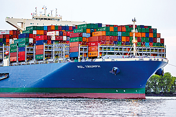 今年頭11月,南韓出口額達5,248億美元,創歷史新高。(Getty Images)