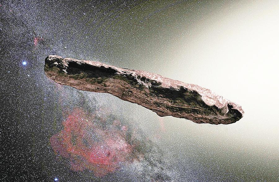 科學家:「遠方信使」或為外星飛船