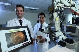 中大研新療法治濕性老年黃斑病變