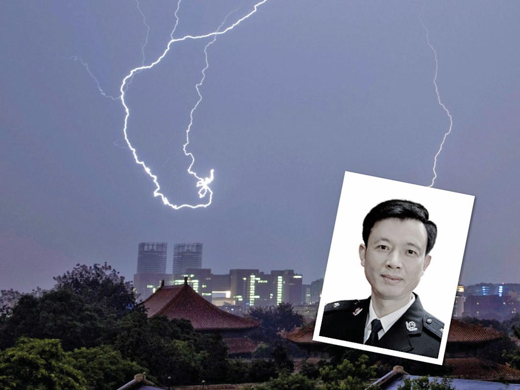 中共前揚州610辦主任、江蘇警官學院原副院長倪興余落馬。(大紀元合成圖)