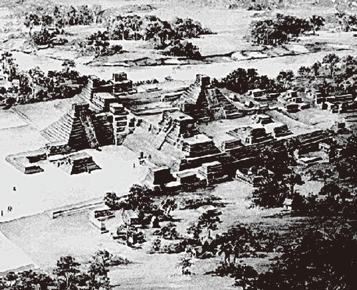 科潘是古馬雅帝國邊境的重要都市,壯麗僅次於危地馬拉的蒂卡爾古城,為馬雅帝國的第二大城。(網絡圖片)