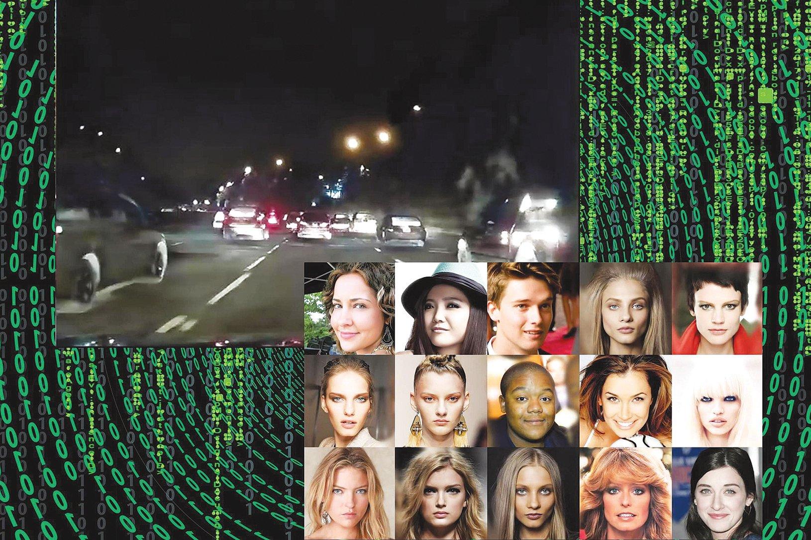 這些不是真實的人物照和景色,而是人工智能的產物。(來源:pixabay及Youtube截圖)