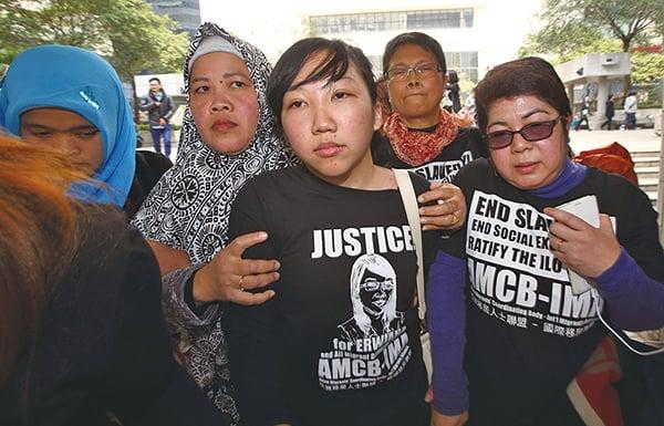 印傭Erwiana遭女僱主羅允彤虐待案,區院法官昨日裁定羅須全數賠償80.9萬元,並須付訟費。(大紀元資料圖片)