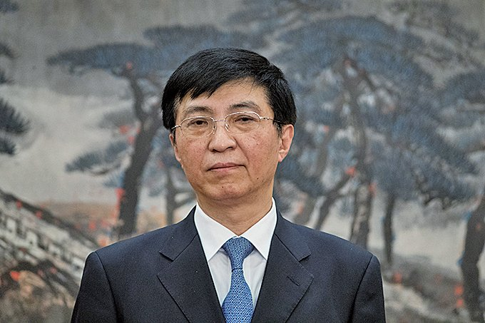 新任中共政治局常委王滬寧已經開始負責北韓外交事務。(Getty Images)