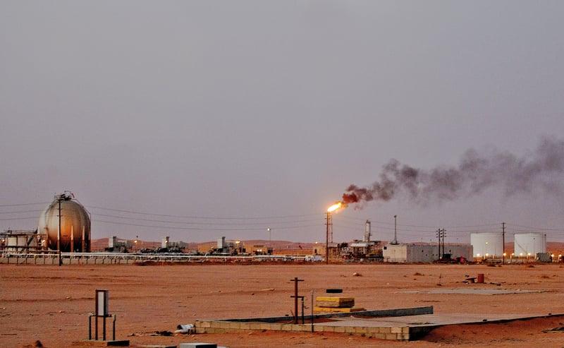 沙特預定出售國營的沙特阿美石油公司(Aramco)部份股權,籌集2萬億美元,用於設立世界最大、規模3萬億美元的主權財富基金。(AFP)