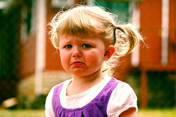 喜歡發脾氣的狀態在寶寶兩歲的時候達到頂峰。(Pixabay