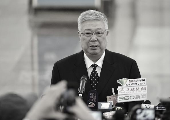 前中共中央委員、民政部部長李立國。(Getty Images)