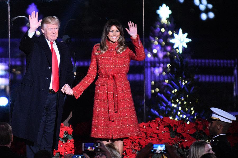 特朗普致電海外部隊:美國自豪地說聖誕快樂