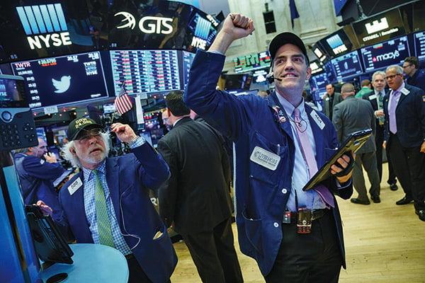 美國稅改利好 投行紛上調2018年美股目標