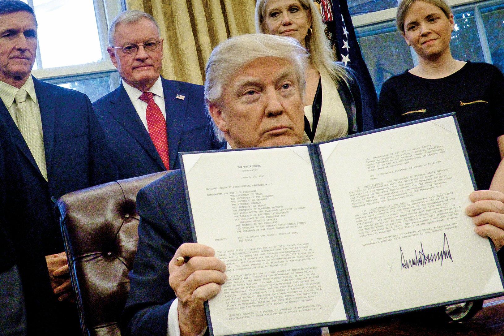 美總統特朗普12月21日發佈全球人權侵犯者和腐敗者制裁名單,北京警察學院黨委書記高岩榜上有名。(Getty Images)