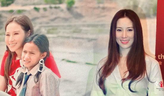 徐子淇捐贈1,600萬港元給「救助兒童會」,成為該機構首位亞洲贊助人。(宋祥龍/大紀元)