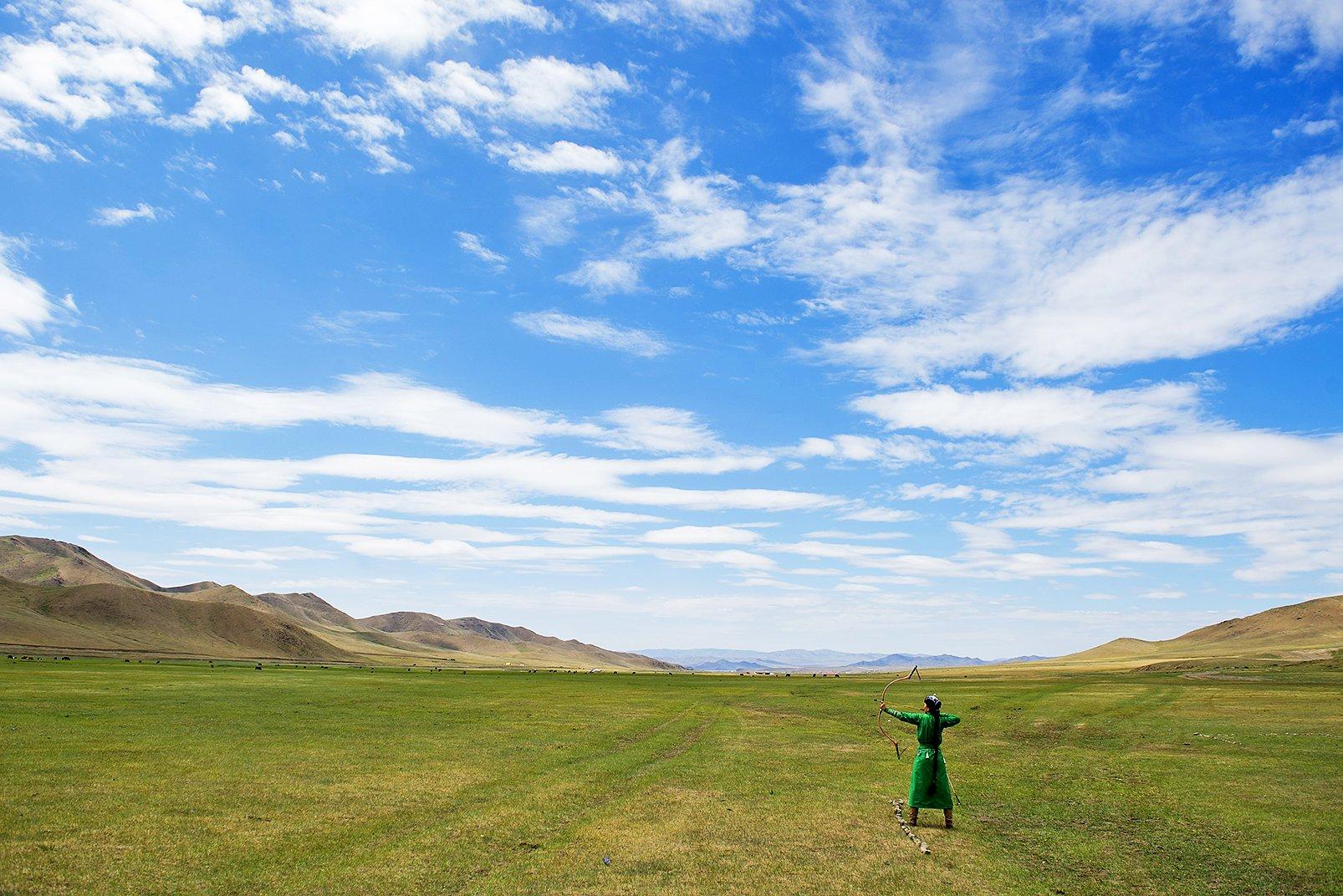 蒙古大草原(Getty Images)