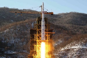 韓媒:北韓擬發射新造衛星 或藉此試射導彈