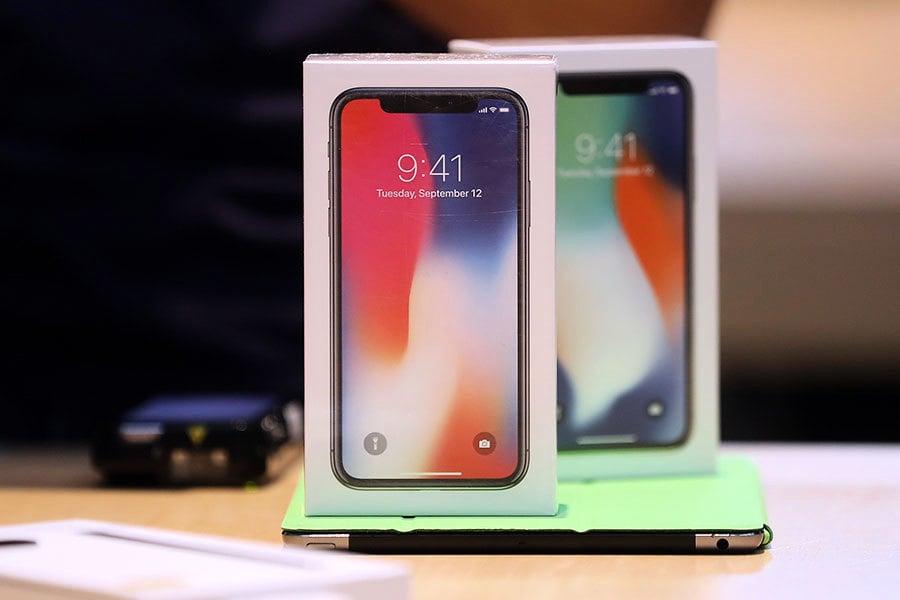 iPhone X銷量調降四成 蘋果概念股聞訊重挫