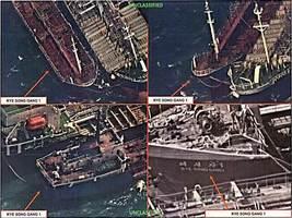 圖像曝中共偷運石油給北韓 特朗普:抓個正著