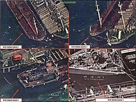 中朝「船對船」走私 美衛星拍下