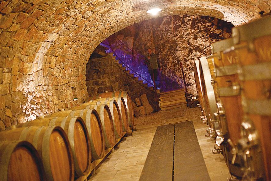 收藏美酒的酒窖。(意大利旅遊局提供)