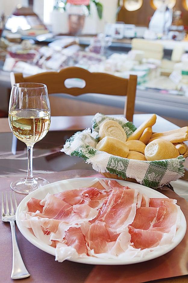 弗留利的美食美酒。(意大利旅遊局提供)