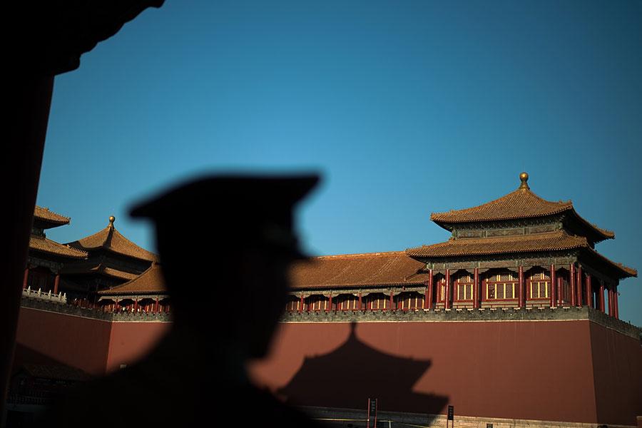 中共決策者打算在下個月討論修改國家憲法,這是自從2004年以來首次。(NICOLAS ASFOURI/AFP/Getty Images)