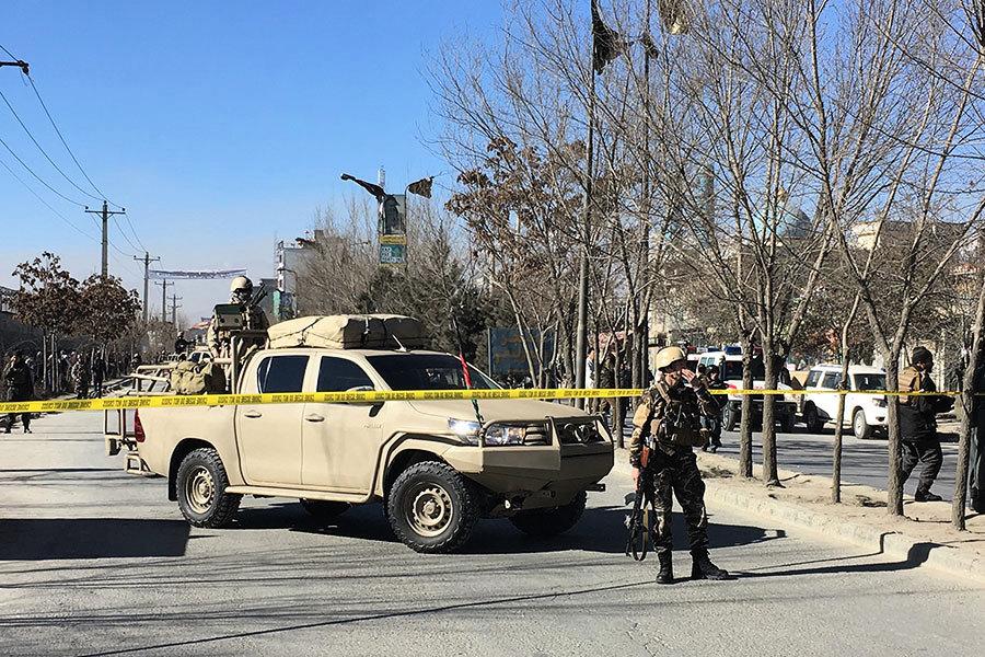 阿富汗首都遭自殺炸彈襲擊 至少40死30傷
